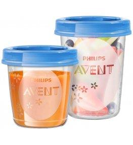 Philips Avent Pojemniki do przechowywania pokarmu 180 ml - 10 sztuk