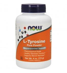 Now Foods L-Tyrozyna w proszku - 113 g
