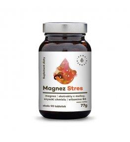 Aura Herbals Magnez Stres - 90 tabletek