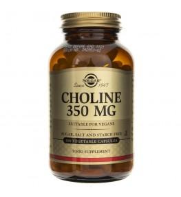 Solgar Cholina 350 mg - 100 kapsułek