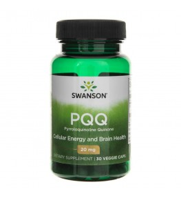 Swanson PQQ (Pyrroloquinoline Quinone) 20 mg - 30 kapsułek