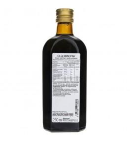 Olvita Olej konopny zimno tłoczony nieoczyszczony - 250 ml