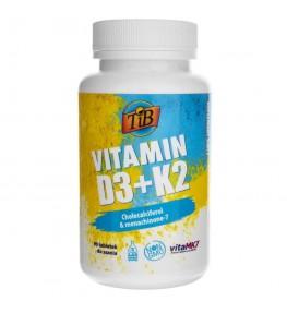 This is Bio Vitamin D3 & K2 - 90 tabletek