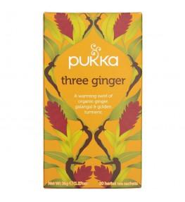 Pukka Herbata Three Ginger Imbirowa - 20 saszetek