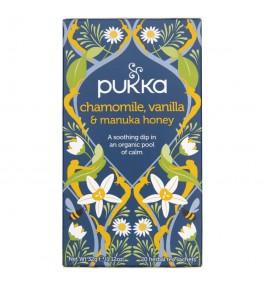 Pukka Herbata Chamomile, Vanilla & Manuka Honey Rumiankowa - 20 saszetek