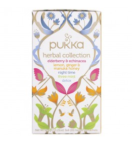 Pukka Herbata Herbal Collection Mix Limitowana Edycja - 20 saszetek