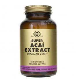Solgar Super Acai ekstrakt z brazylijskiej jagody - 50 kapsułek