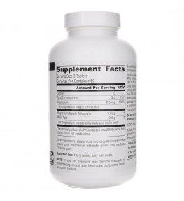 Source Naturals Jabłczan Magnezu 1250 mg - 180 tabletek