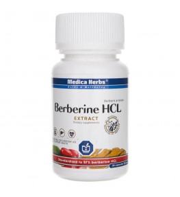 Medica Herbs Berberyna HCL wyciąg 516 mg - 30 kapsułek