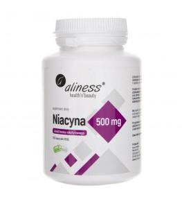 Aliness Niacyna amid kwasu nikotynowego 500 mg - 100 kapsułek