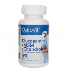 OstroVit Glucosamine + MSM + Chondroitin - 90 tabletek