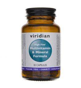 Viridian High Five Multivitamin & Mineral Formula - 30 kapsułek