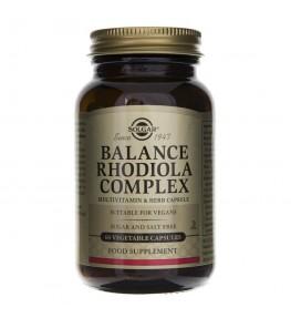 Solgar Balance Rhodiola Complex - 60 kapsułek