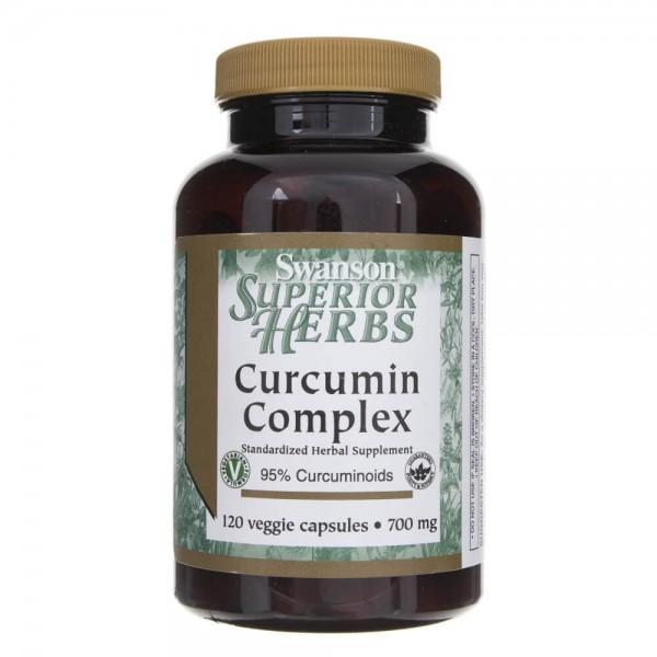 Swanson Curcumin Complex 700 mg - 120 kapsułek
