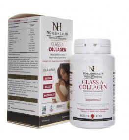 Noble Health Kolagen Class A Collagen dla mamy - 90 tabletek