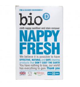 Bio-D Nappy Fresh Antybakteryjny dodatek do proszku do prania pieluch - 500 g