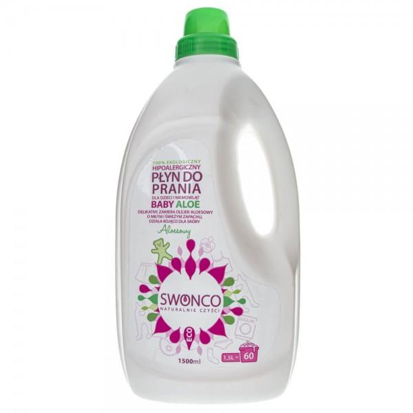 Swonco Baby Aloe Płyn do prania dla dzieci i niemowląt - 1500 ml
