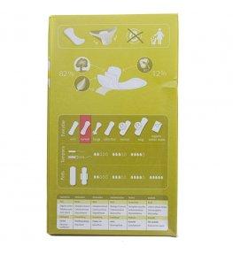Natracare Ekologiczne wkładki higieniczne curved - 30 sztuk