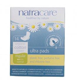 Natracare Ekologiczne podpaski higieniczne ultra regular - 14 sztuk