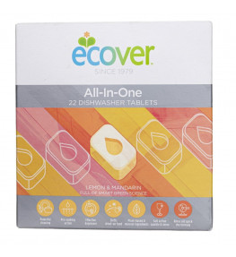 Ecover All in one tabletki do zmywarki - 22 sztuki
