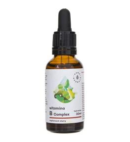 Aura Herbals Witamina B Complex w kroplach - 30 ml