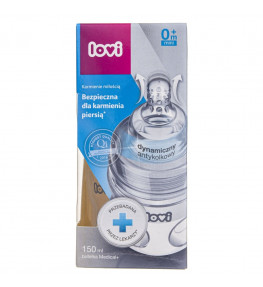 Lovi Medical+ Butelka do karmienia 0 m+ - 150 ml