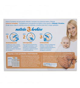 Katarek Complete aspirator do nosa od urodzenia
