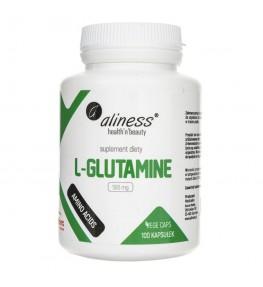 Aliness L-Glutamine 500 mg - 100 kapsułek