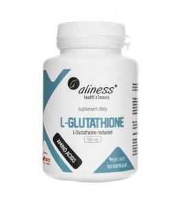 Aliness L-Glutathione reduced 500 mg - 100 kapsułek