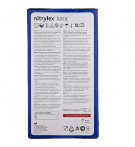 Mercator Rękawiczki diagnostyczne nitrylex® basic L - 100 sztuk