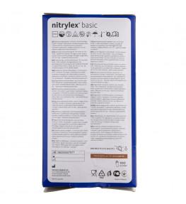 Mercator Rękawiczki diagnostyczne nitrylex® basic XL - 100 sztuk