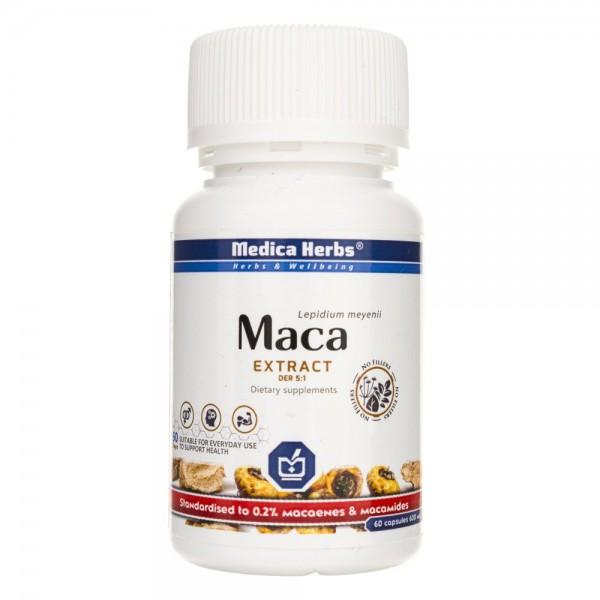 Medica Herbs Maca wyciąg 680 mg - 60 kapsułek