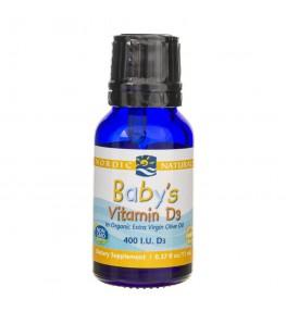 Nordic Naturals Witamina D 400 IU dla niemowląt - 11 ml