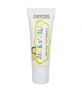Jack N'Jill Naturalna Pasta do zębów organiczna bezsmakowa - 50 g