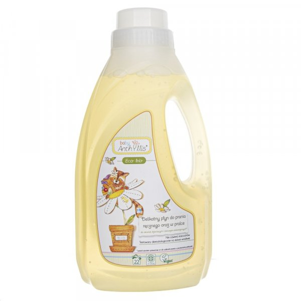 Baby Anthyllis Płyn do prania ubranek dziecięcych i niemowlęcych - 1 l