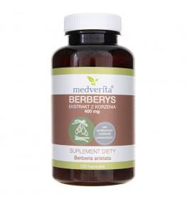 Medverita Berberys 400 mg - 120 kapsułek
