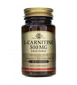 Solgar L-Karnityna 500 mg - 30 tabletek