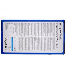 Mercator Rękawiczki diagnostyczne nitrylex® basic M - 100 sztuk