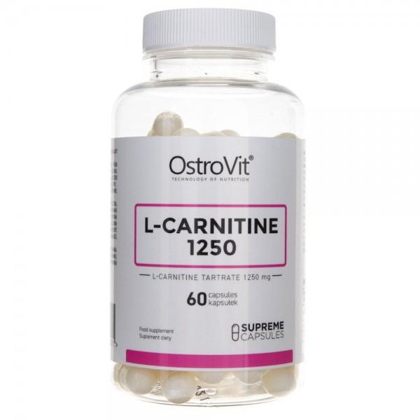 OstroVit L-Carnitine 1250 Supreme Capsules - 60 kapsułek