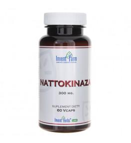 Invent Farm Nattokinaza 300 mg - 60 kapsułek