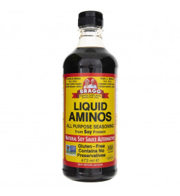 Bragg Liquid Aminos (alternatywa dla sosu sojowego) - 473 ml