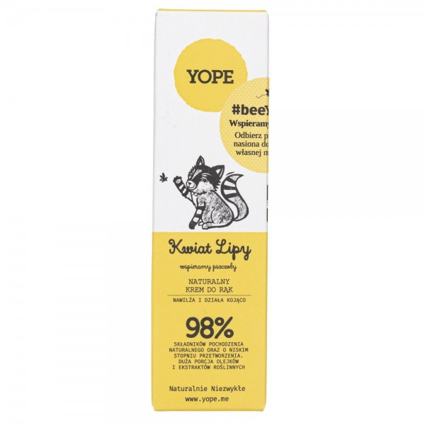 Yope Krem do rąk Kwiat lipy - 50 ml