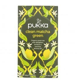 Pukka Herbata Clean Matcha Green - 20 saszetek