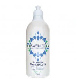 Swonco Płyn do mycia naczyń Miętowy - 750 ml