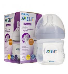 Philips Avent Natural 2.0 Butelka dla niemowląt 125 ml 0m+ - 1 sztuka