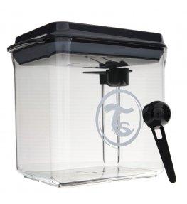 Twistshake Pojemnik do przechowywania mleka w proszku czarny - 1700 ml