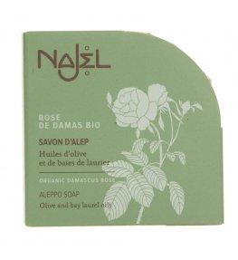 Najel Mydło z Aleppo z Różą Damasceńską Bio - 100g