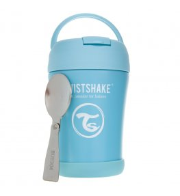 Twistshake Pojemnik termiczny na jedzenie niebieski - 350 ml