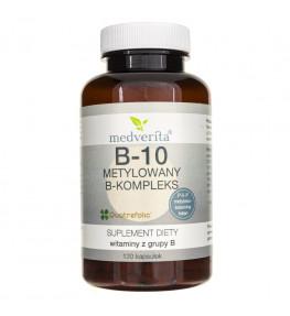 Medverita B-10 metylowany B-kompleks - 120 kapsułek