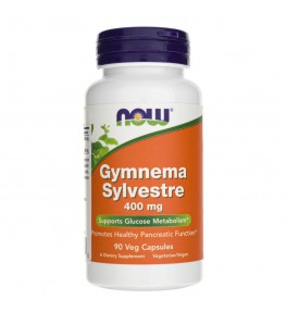 Now Foods Gymnema Sylvestre 400 mg - 90 kapsułek